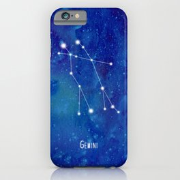 Constellation Gemini iPhone Case