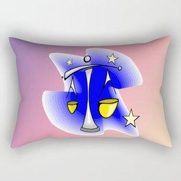 Astrology, Aquarius Rectangular Pillow
