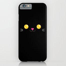 Children imaginary kitty friend CARBON (Chibi Palz cute companion) iPhone Case