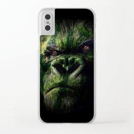 Watermelokong Clear iPhone Case