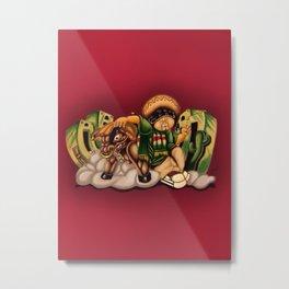 El torito Metal Print