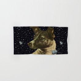 Gagarin space art #2 - Laika Hand & Bath Towel