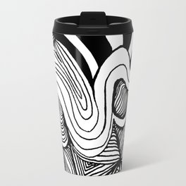 Zentangle #22 Travel Mug