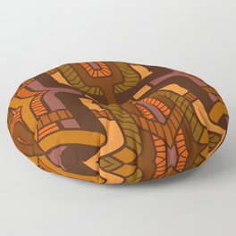 Lattice weave Floor Pillow