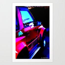 Suzuki Vitara print Art Print