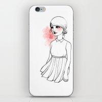 dramatical murder iPhone & iPod Skins featuring Dramatical Dress 1 by Jessica Guarnido