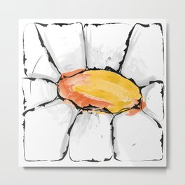 The space of a flower Metal Print
