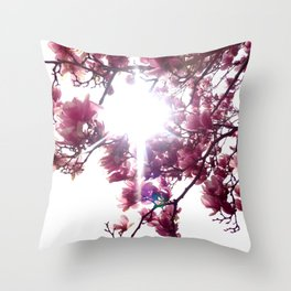 Springtime Bliss Throw Pillow