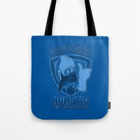 nausicaa Tote Bags featuring Windy Valley Holistic Pest Solutions by adho1982