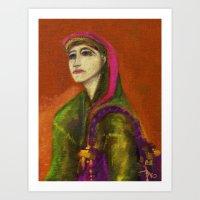 KAMILA Art Print