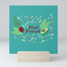 Plant Powered Mini Art Print