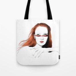 Love Girls - Blood redhead Tote Bag