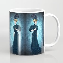 Girl in Blue Coffee Mug