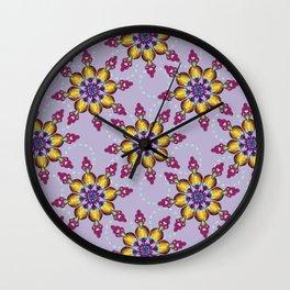 Jewel Wall Clock