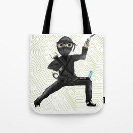 Cyber Ninja Tote Bag