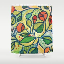 Vibrant Shower Curtain