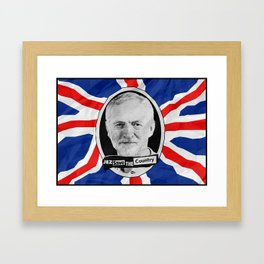 Jez Save The Country! Framed Art Print