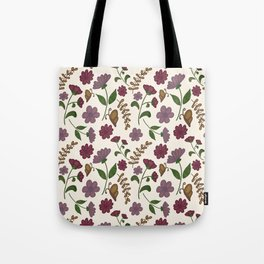 Delicate Flowers Tote Bag