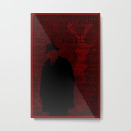 The List Metal Print