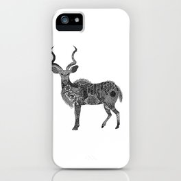Henna-Inspired Kudu  iPhone Case