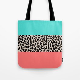 Leopard National Flag XVII Tote Bag