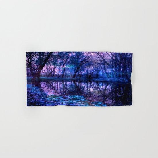 Enchanted Forest Lake Hand & Bath Towel