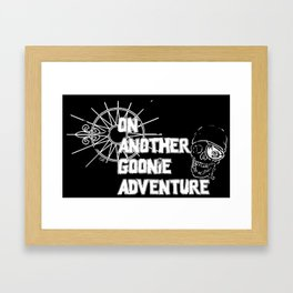 On Another Goonie adventure 2 Framed Art Print