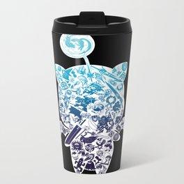 Moogleverse (blue) Metal Travel Mug