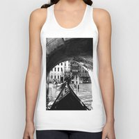 venice Tank Tops featuring venice by gzm_guvenc