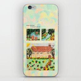 Wood Dominoes - Colour - #1 iPhone Skin