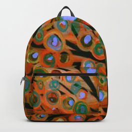 Fall Red Leaves Tree Backpack