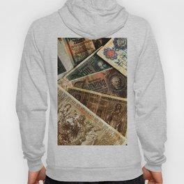 Old German money Altes Deutsches Geld Hoody