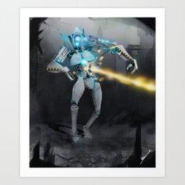 Protector Art Print