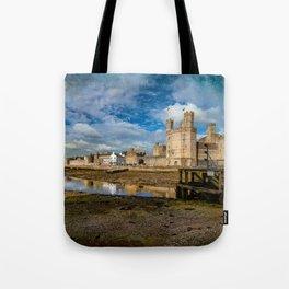 Caernarfon Castle Tote Bag