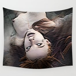 Salem Witch Dead In the Water Wall Tapestry