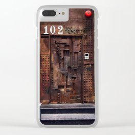 DOOR 102 Clear iPhone Case