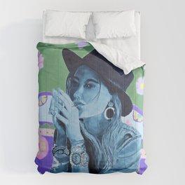 Boho Girl 1 Summer Comforters