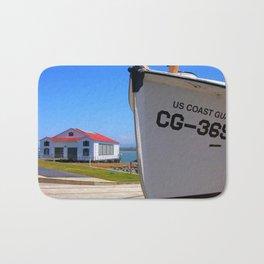 Coast Guard Station Bath Mat
