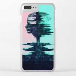 WaveFormGirl Clear iPhone Case