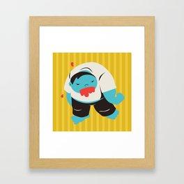 Zombie Dave Framed Art Print