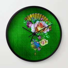 Spring Fantasy Wall Clock
