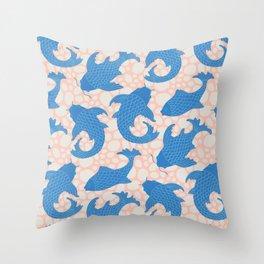 KOI Pattern Throw Pillow