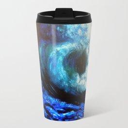 Mesmerizing Waves Travel Mug