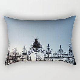 Nature, landscape and twilight 1 Rectangular Pillow