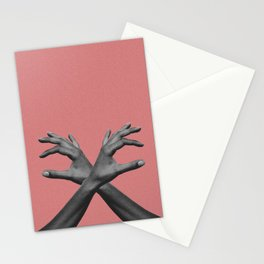 Hands III Stationery Cards
