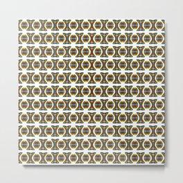 String Beads  Metal Print