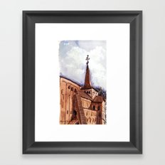 The first good day in spring Framed Art Print