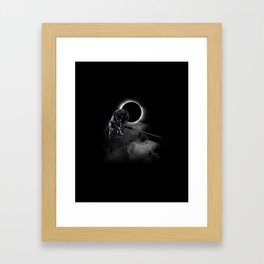 Loyal Wolf Framed Art Print