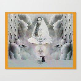 Sarada Devi Print Canvas Print