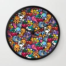 Sea pattern 02 Wall Clock